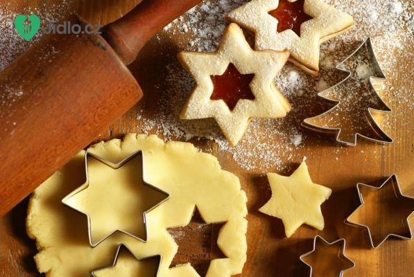 Vánoční tvarohové cukroví recept