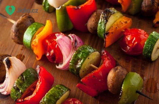 Vegetariánské špízy recept