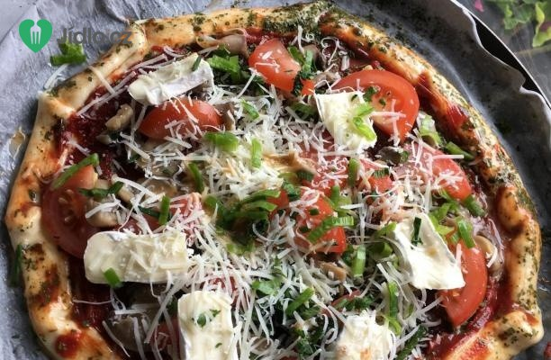 Vegetariánská pizza recept