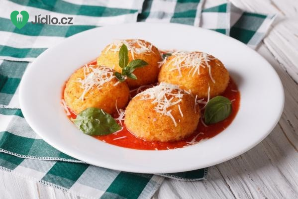 Vegetariánské Arancini - Italské rizoto kuličky recept