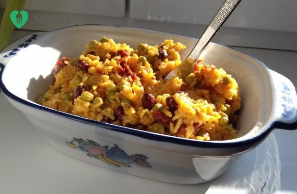 Vegetariánské rizoto recept