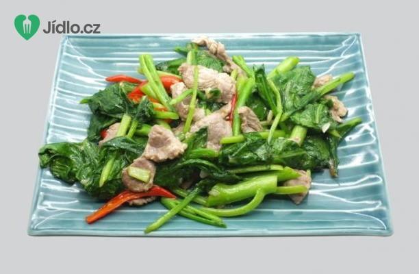 Vepřová panenka s krátce dušenou zeleninou recept
