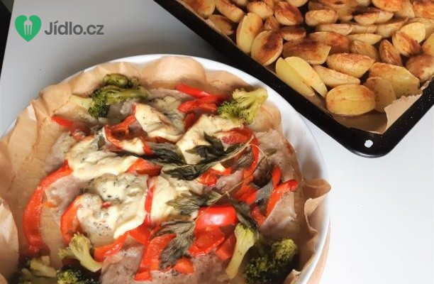 Vepřové plátky se zeleninou recept