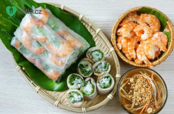 Vietnamská rolka s krevetami recept