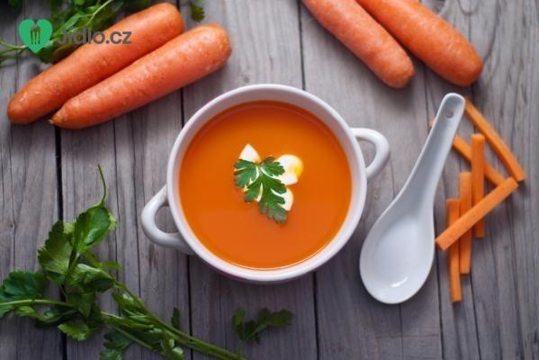 Výborná mrkvová polévka recept