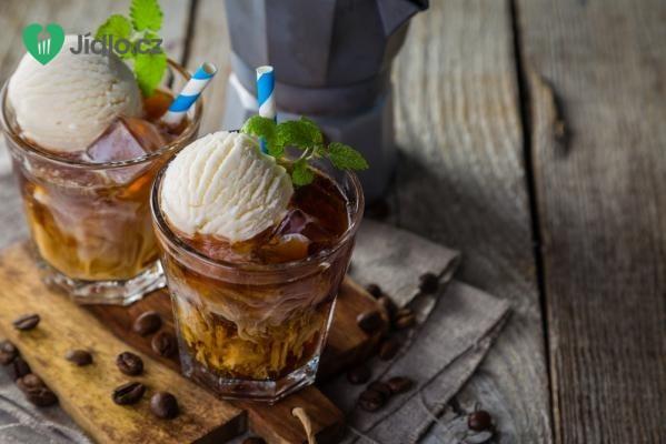 Vynikající ledové frappé se zmrzlinou recept
