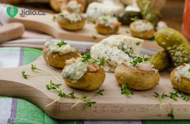 Recept Zapečené houby se sýrem