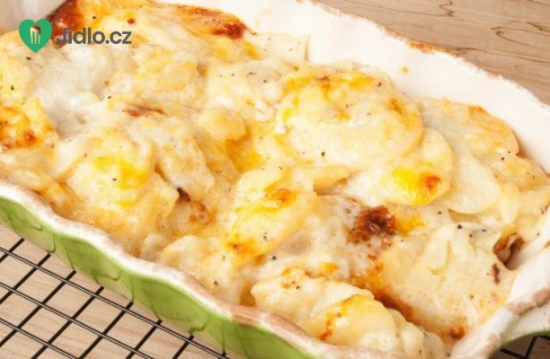 Zapečené sladké brambory s vodnicí recept