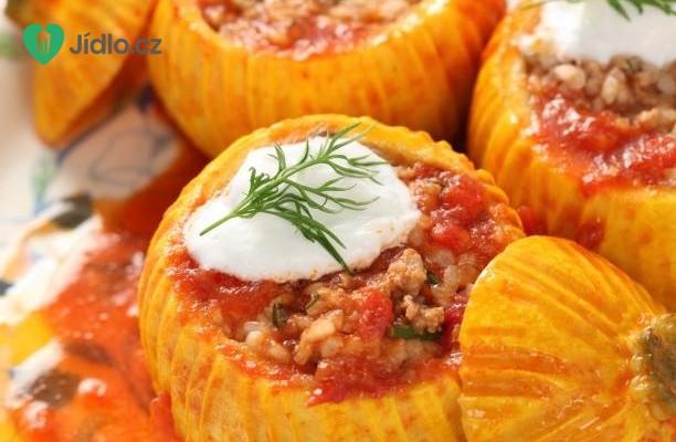 Zapečené kulaté cukety s rajčaty recept