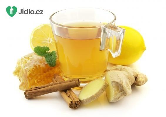 Zázvorový čaj pro zahřátí recept