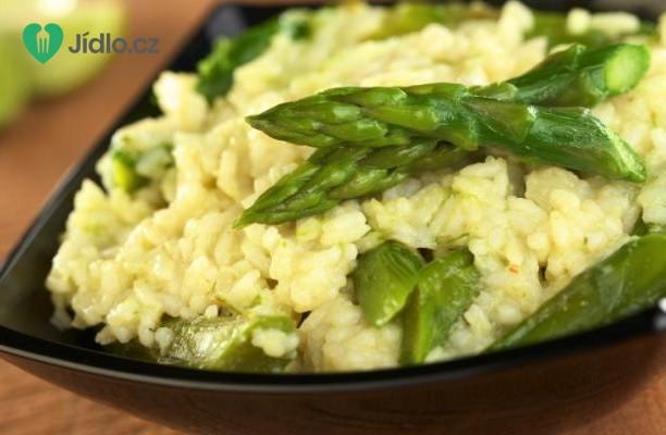 Zelené chřestové rizoto recept