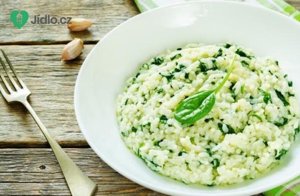 Zelené rizoto s chřestem recept