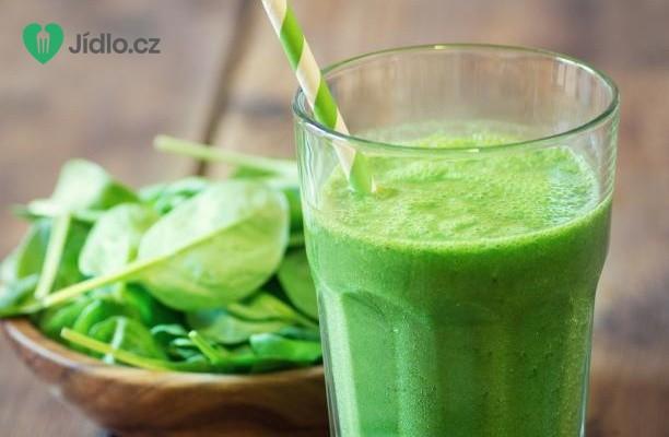 Recept Zelené smoothie se špenátem