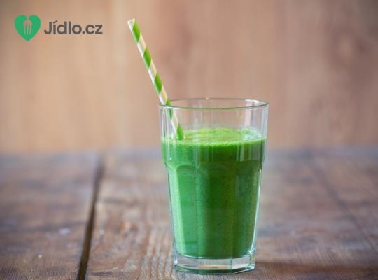 Zelené zázvorovo broskvové smoothie recept