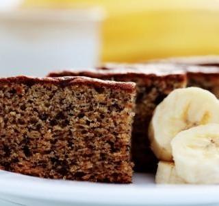 Banánový koláč bez lepku