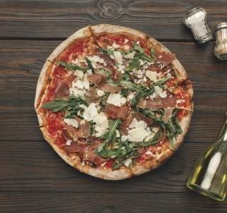 Bezlepková šunková pizza