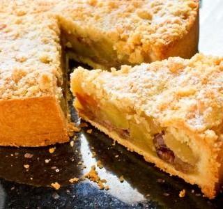 Bezlepkový koláč s jablky