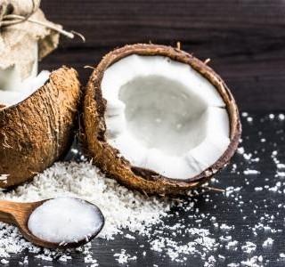 Bílé kokosové myšky