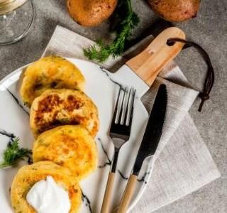 Bramborové placičky se sýrem