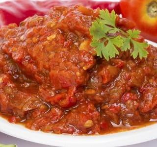 Čatní z rajčat a paprik