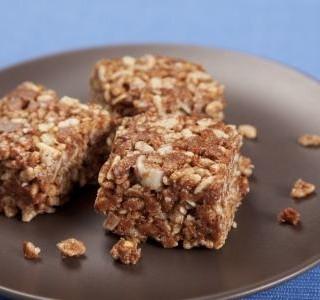 Čokoládovo arašídový dezert