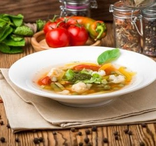 Drožďové noky do polévky