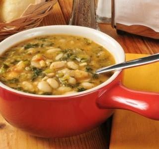 Fazolová polévka od babičky