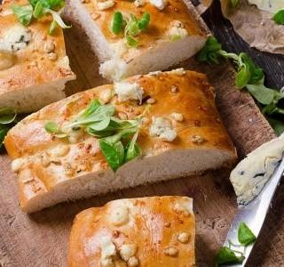Focaccia sendviče na piknik