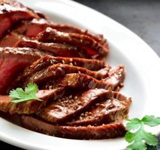 Havajský marinovaný steak