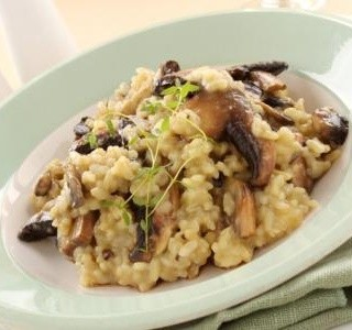Houbové risotto