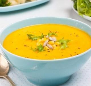Jednoduchá kukuřičná polévka