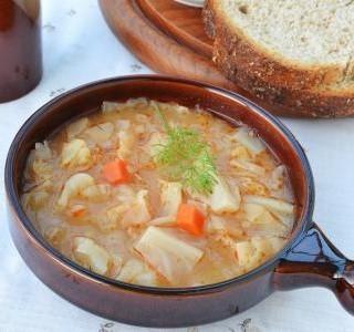Kapustová polévka
