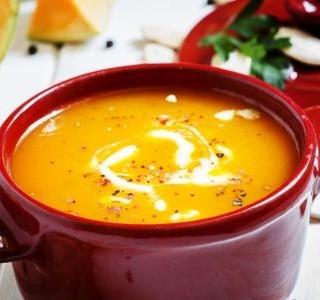 Krémová dýňová polévka