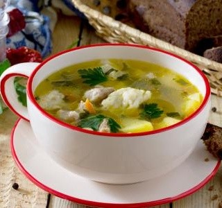 Krupicové noky do polévky