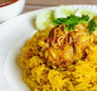 Kuře Biryani