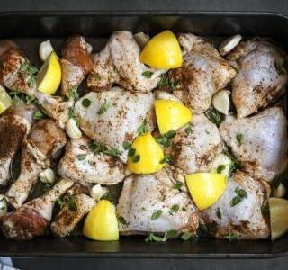 Kuře pečené se šlehačkou