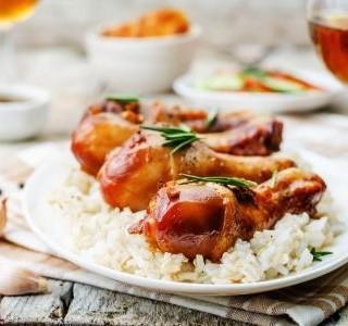 Kuře zapečené s rýží