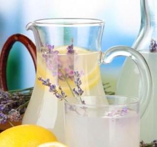 Limonáda s levandulí