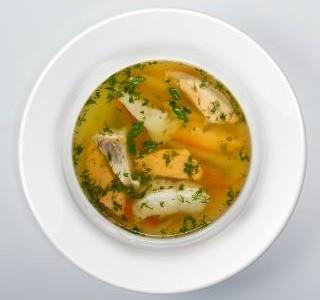 Maďarská polévka z kapra