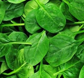 Mražený listový špenát
