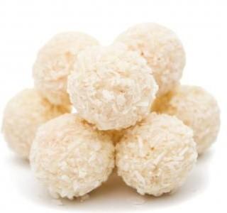 Nepečené kokosové koule pro diabetiky