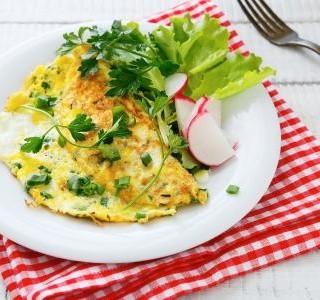 Omelety s kopřivami