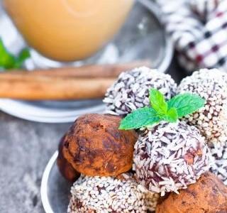 Ořechovo-datlové raw kuličky