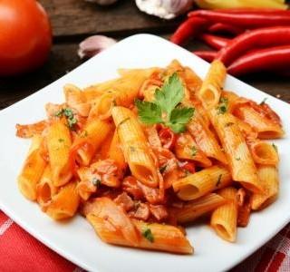 Papriková omáčka na těstoviny