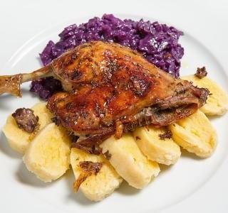 Pečená kachna