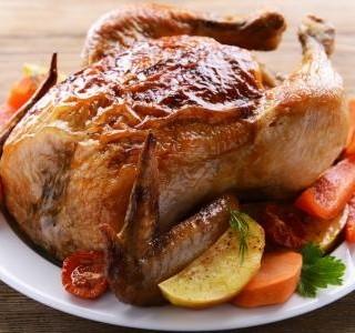 Pečené paprikové kuře