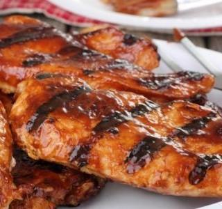 Pikantní grilovaná kuřecí prsa
