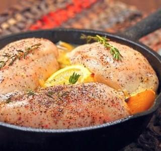 Pikantní kuřecí prsa