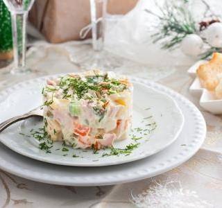Pikantní salát s vejci