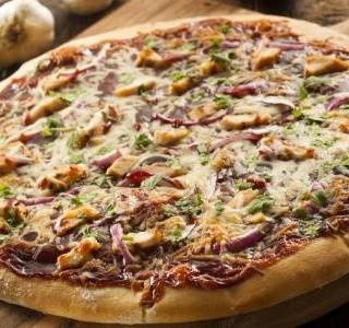 Pizza s kuřecím masem